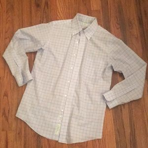 Men's Brooks Brothers Blue Dress Shirt